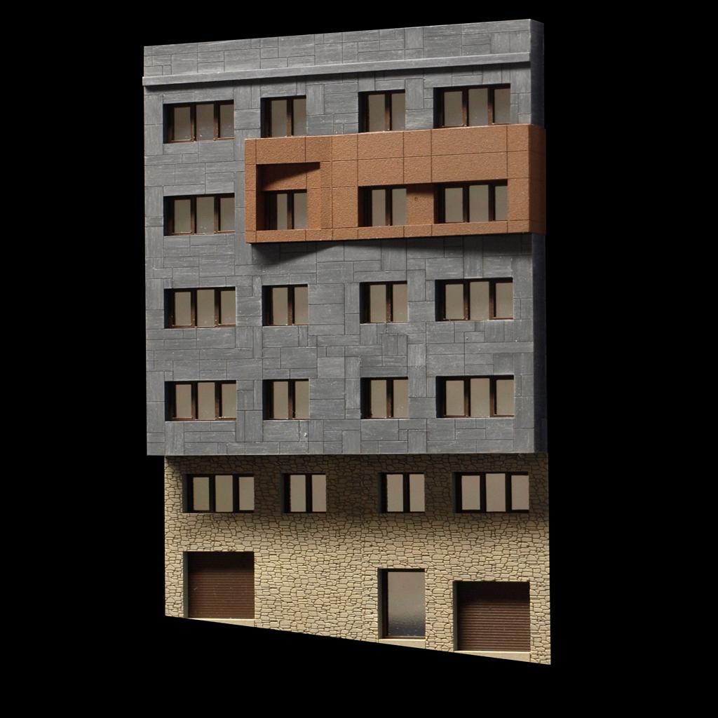 Maquetas de arquitectura y maquetas inmobiliarias for Reformas de fachadas en palma