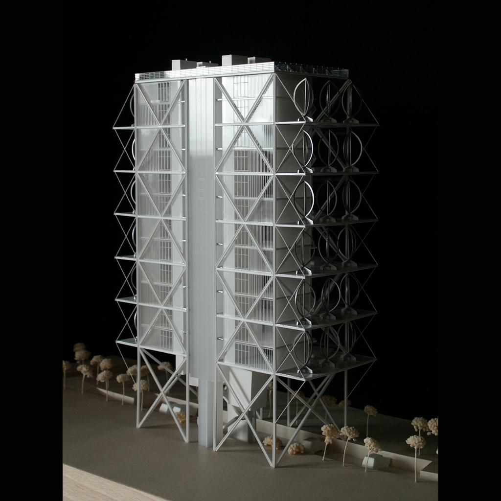 Maquetas de arquitectura y maquetas inmobiliarias Modelo de viviendas para construir